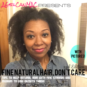 Fine Natural Hair Dont Care- 2nd Edition Cover 6-30-15
