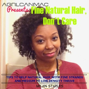 Fine Natural Hair Dont Care