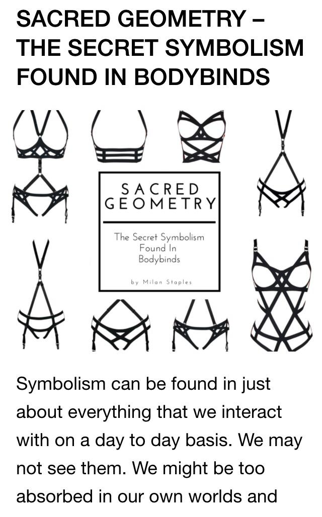 Sacred Geometry- Bodybinds 2015