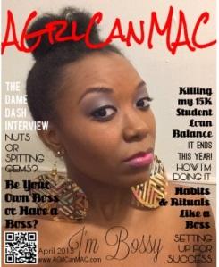 AGrlCanMAC April 205 magazine cover