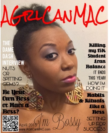 AGrlCanMAC April 205 magazine cover